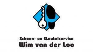 Logo Schoen- en sleutelservice Wim van der Loo